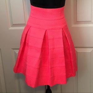 Petit Gateau Neon Pink Skirt